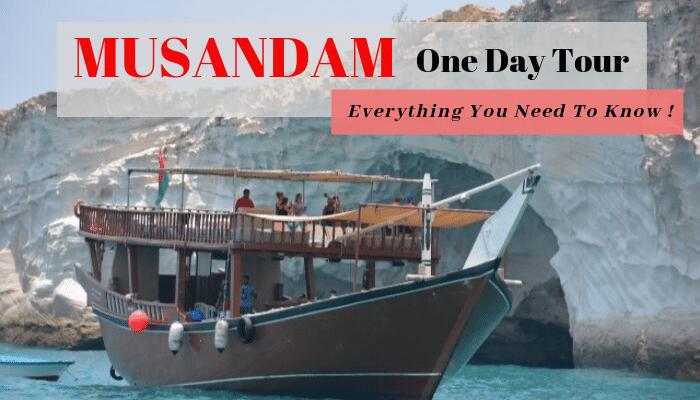 Musandam one day tour Blog