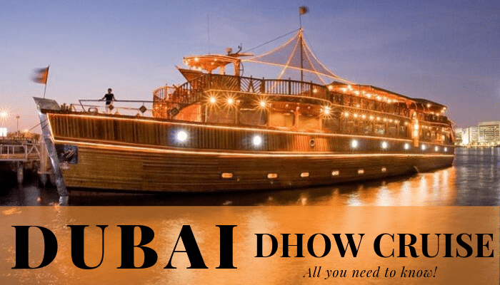 Dubai Dhow Cruise All you need to know