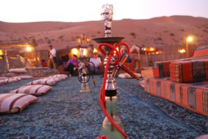 Sheesha in Dubai desert safari by gotripair
